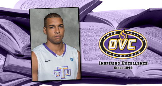 Ogbe honored with Ohio Valley Conference Scholar-Athlete Award