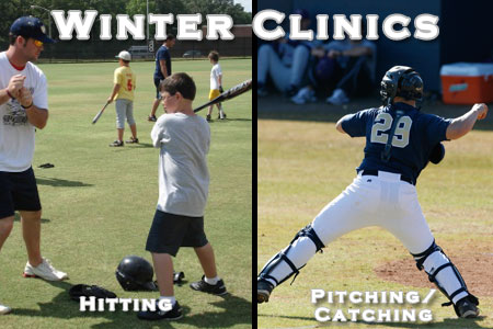 Youth baseball winter clinic dates announced