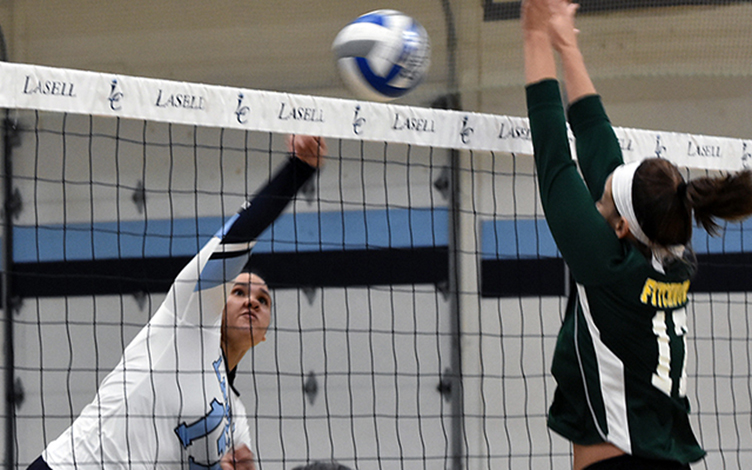 WVB: Lasell sweeps Fitchburg State in home opener