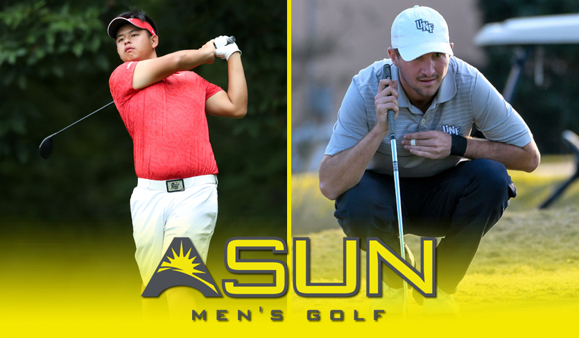 Liberty's Chang & UNF's Trace Share @ASUN_Golf Weekly Honors