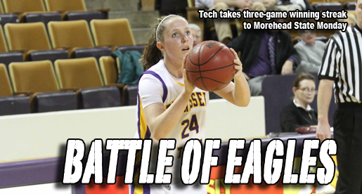 Golden Eagles look to keep thing rolling as they travel to Morehead State