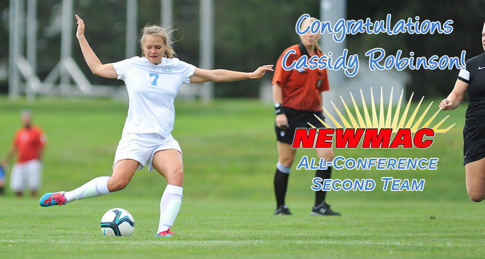 Robinson Named to NEWMAC All-Conference Second Team