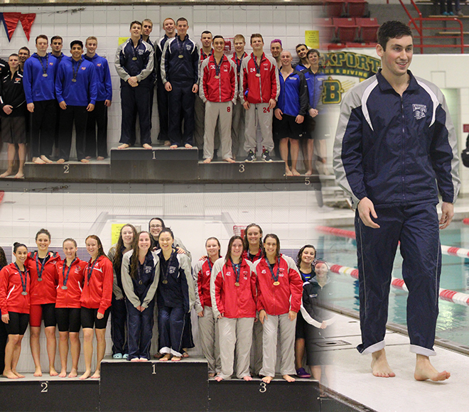 Geneseo takes three on first day of SUNYAC swimming and diving championships