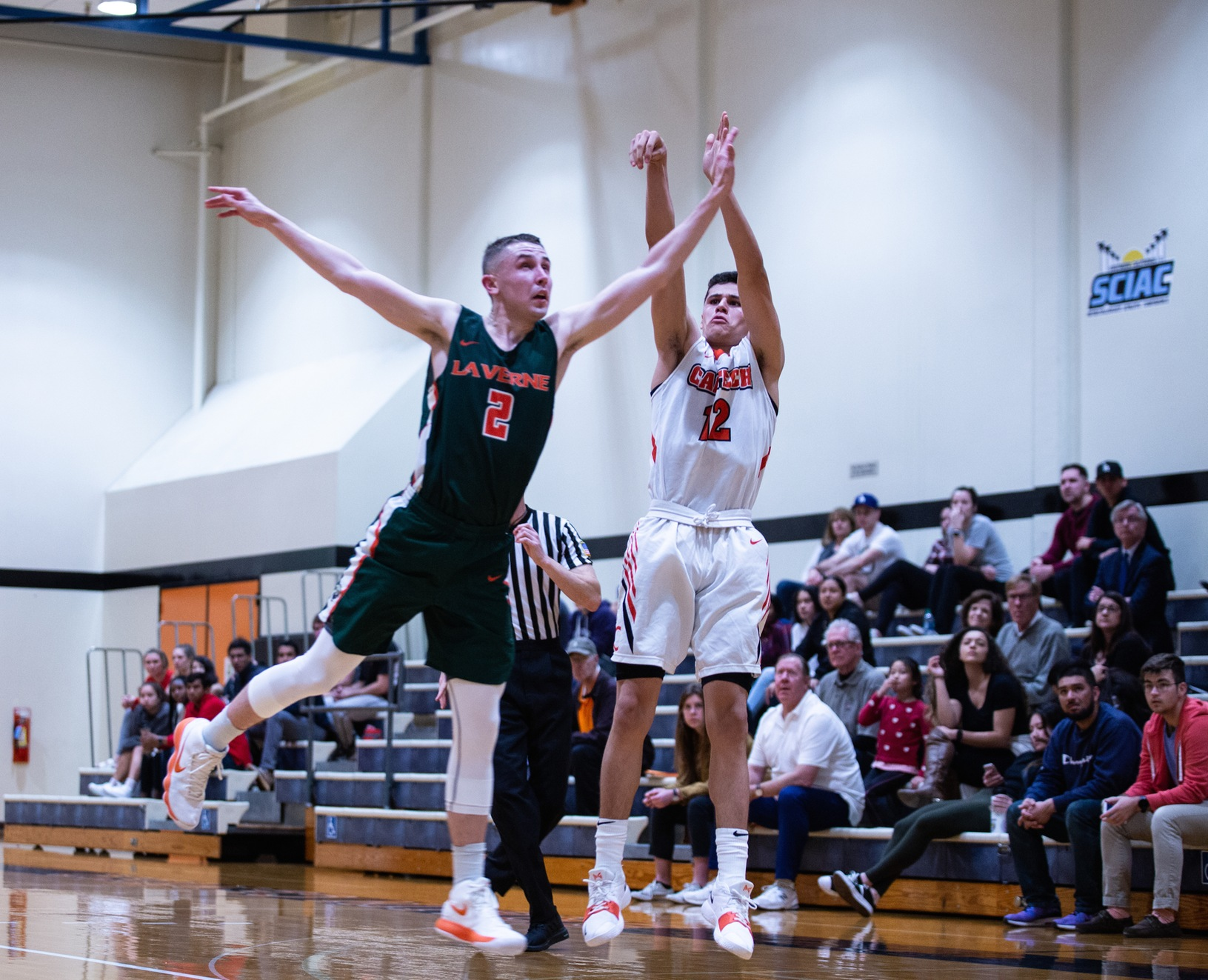 Caltech Holds Redlands Under Average