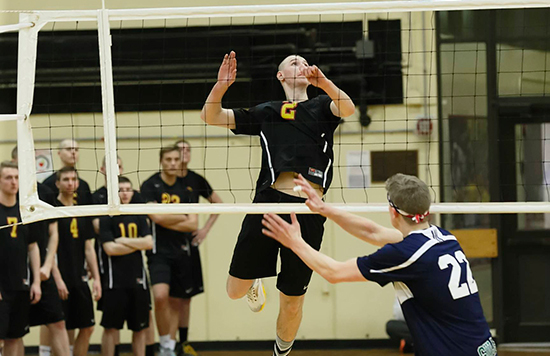 Men's Volleyball Ends Drought Against MIT