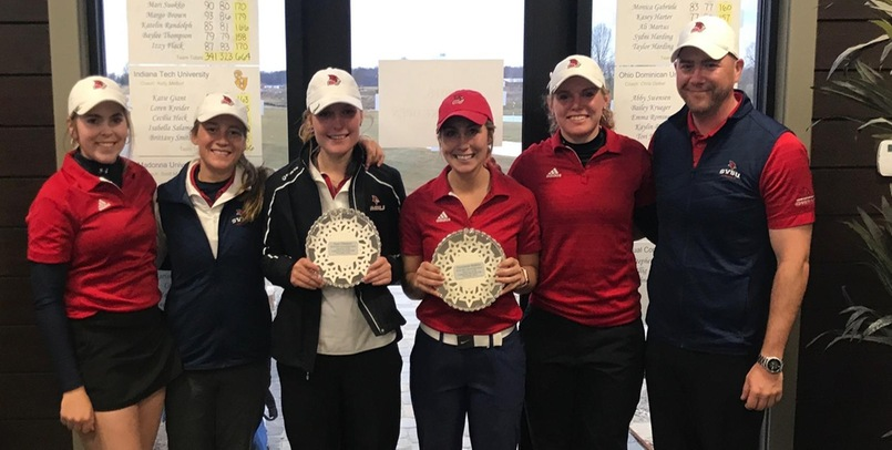 The SVSU Women's Golf Team claimed the program's first championship on Monday...