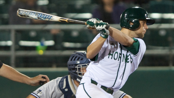 BASEBALL'S WINNING STREAK ENDS ON PACIFIC WALK-OFF HOMER IN 14TH