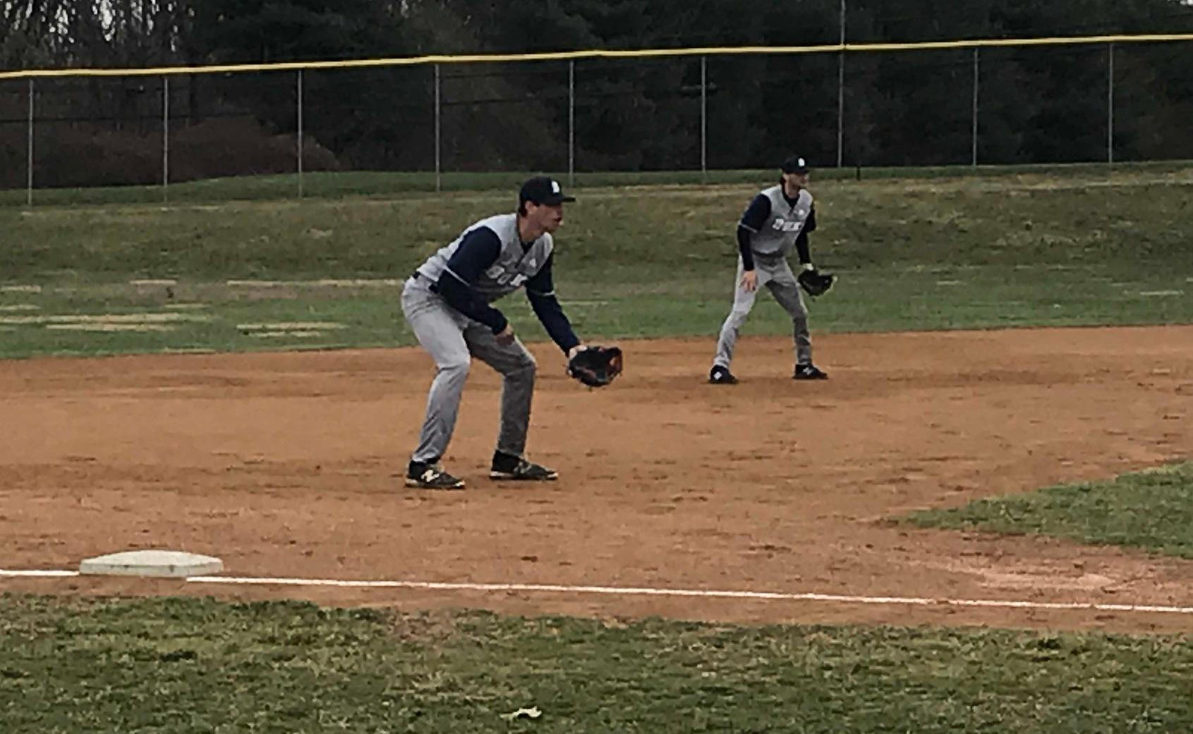 Bucks Baseball Sweeps Valley Forge