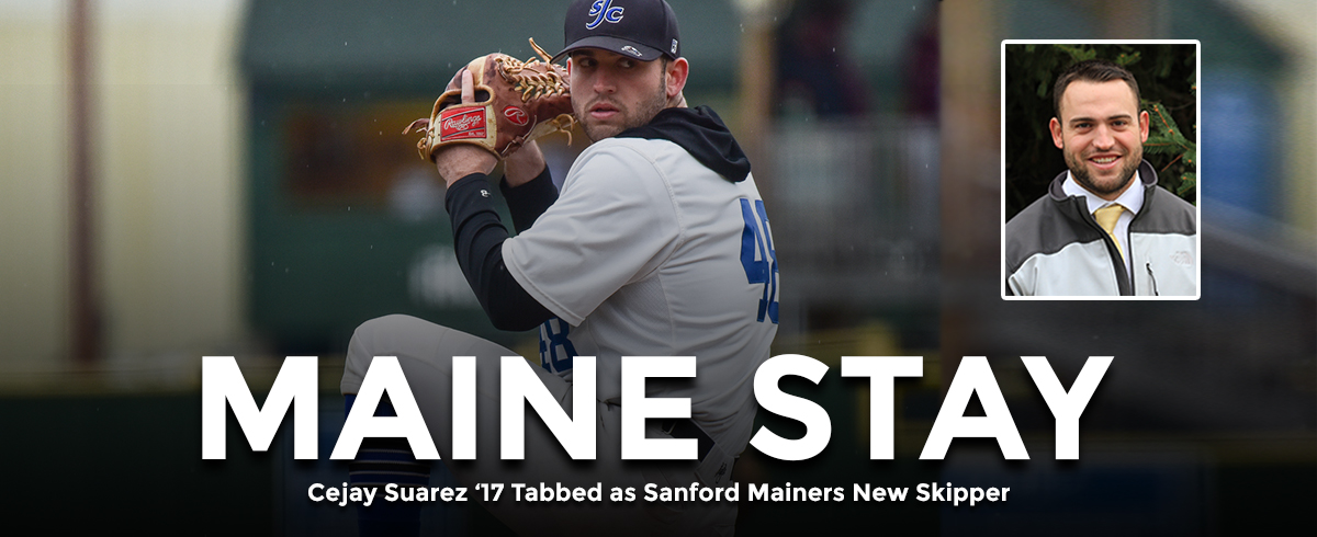 Cejay Saurez '17 Tabbed as Sanford Mainers New Skipper