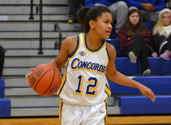 Concordia Women's Basketball Upended by CACC Foe Post, 74-58