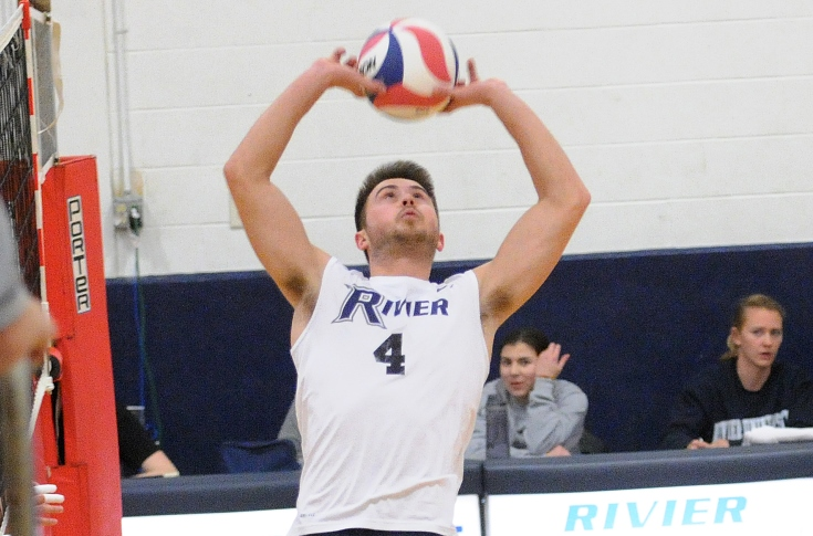 Men's Volleyball: Bucklin, Raiders take down MIT