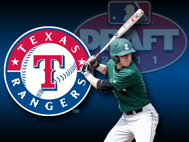 Ryan Rua Selected by Texas Rangers in MLB Draft