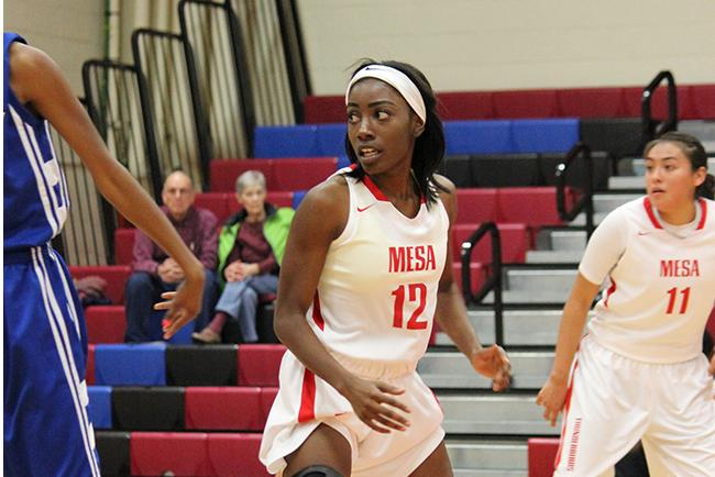 Ashle Burns' defense helped igntite the Mesa rally