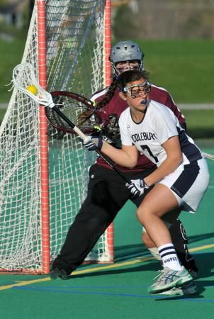 Women's Lacrosse Handles Union