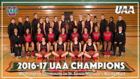 Washington University Clinches UAA Women's Basketball Championship With Comeback Win
