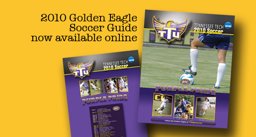 2010 women's soccer media guide is now available to view online