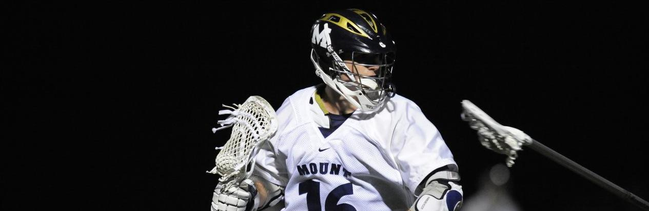 Men's Lacrosse Cruises Past Quinnipiac, 16-10, to Take Sole Possession of First Place