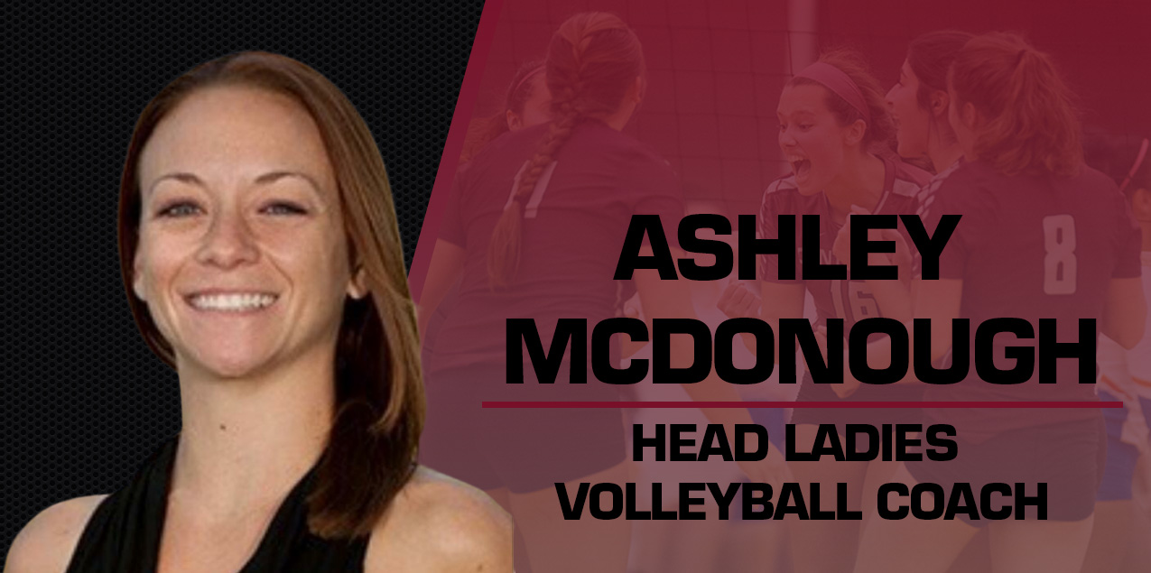 McDonough Named Head Coach of Ladies Volleyball