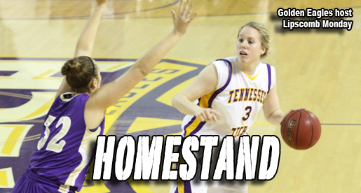 Tech begins two-game homestand Monday against Lipscomb Lady Bisons