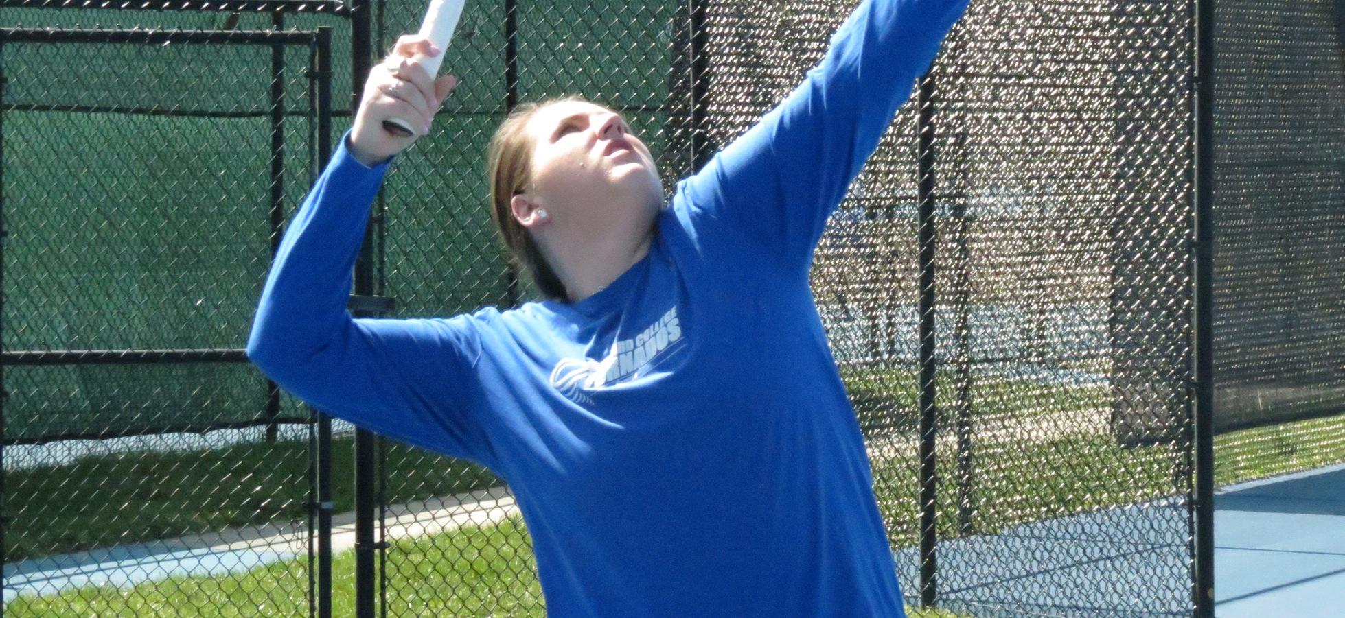 Scotties Down Brevard in Tennis Action