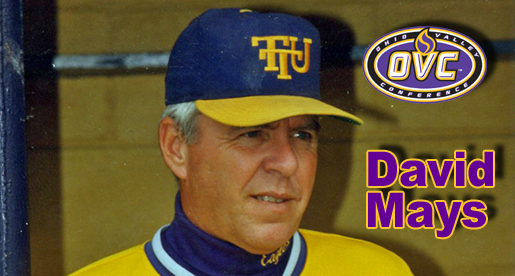 Tech's David Mays selected for induction into OVC Hall of Fame
