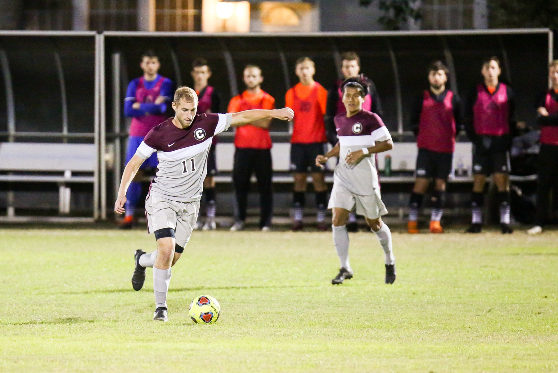 Gents Soccer Falls to #9 Trinity, 6-0