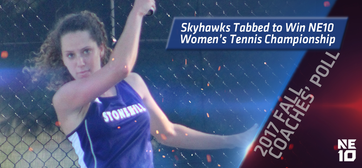 Stonehill Picked to Win NE10 Women's Tennis Championship by League's Coaches