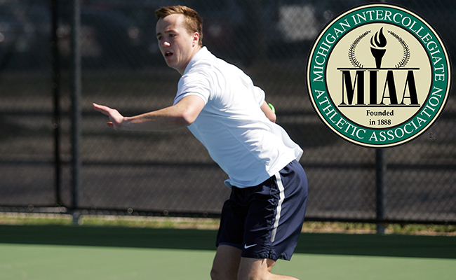 Flynn Garners MIAA Men's Tennis Honors