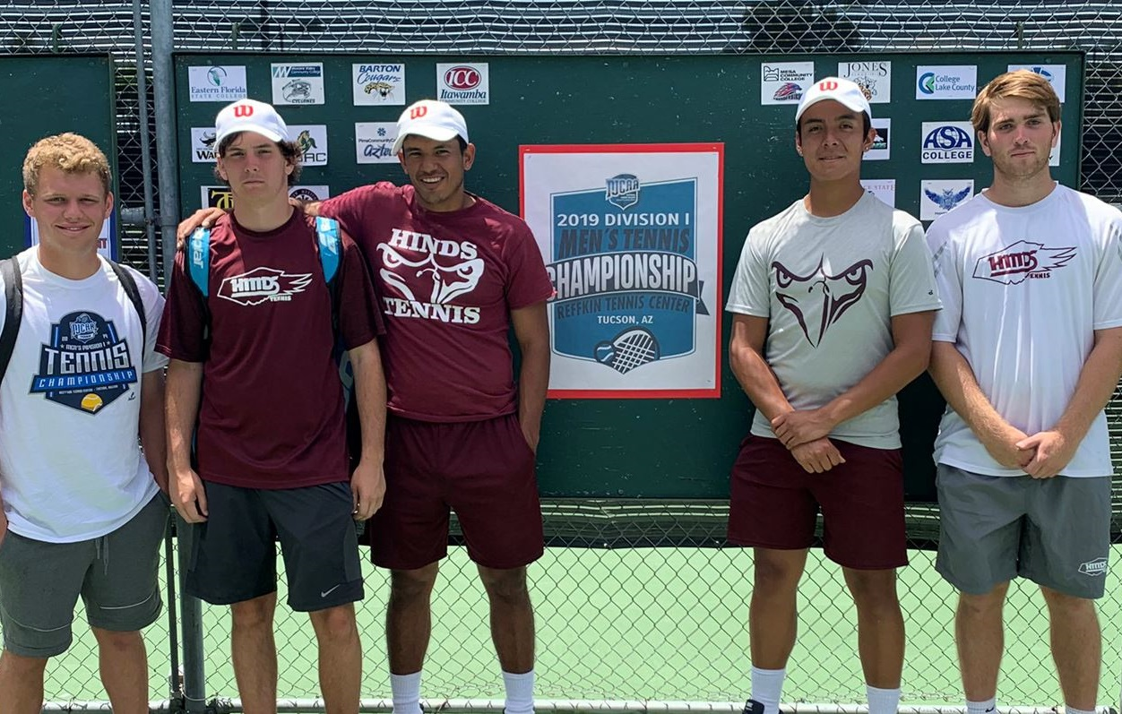Hinds Tennis competes at NJCAA Championships; Finishes highest ranked team in Mississippi