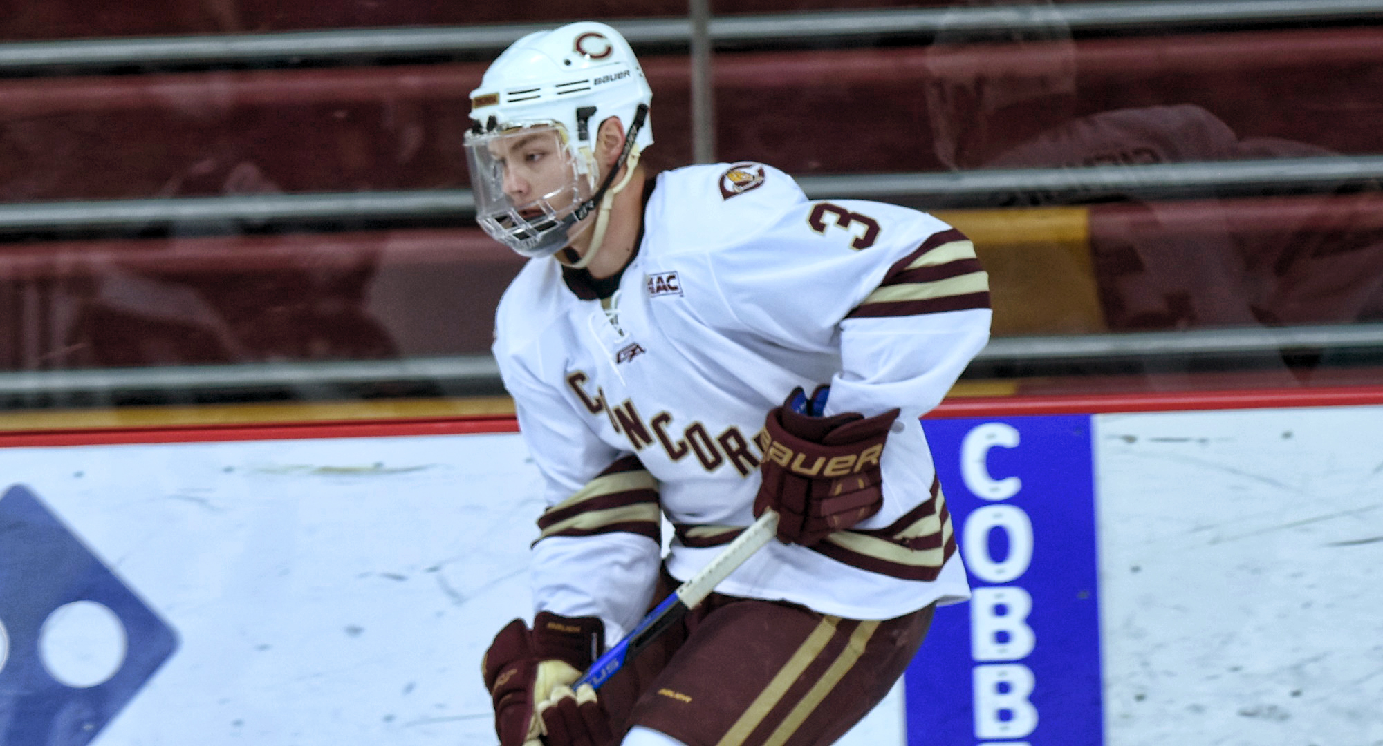 Kyle Siemers scored the only goal of the game in the Cobbers' 1-1 OT tie at Wis.-River Falls in the series finale.