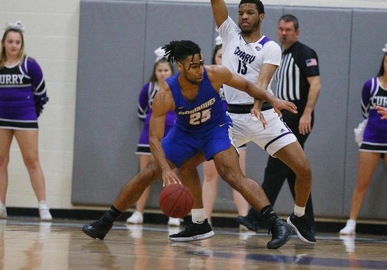 Riddick's Buzzer-Beater Drops Rivier; Fox Scores 1,000th point in 83-81 Win
