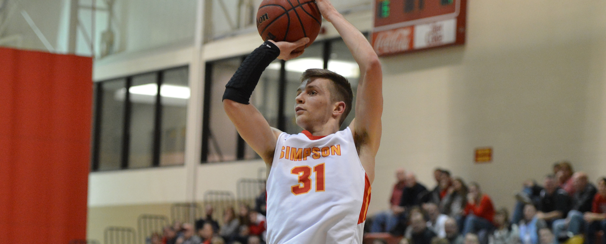 Ryan Skaar scored 13 points in the Storm's 67-62 win at Coe on Saturday, Jan. 21.