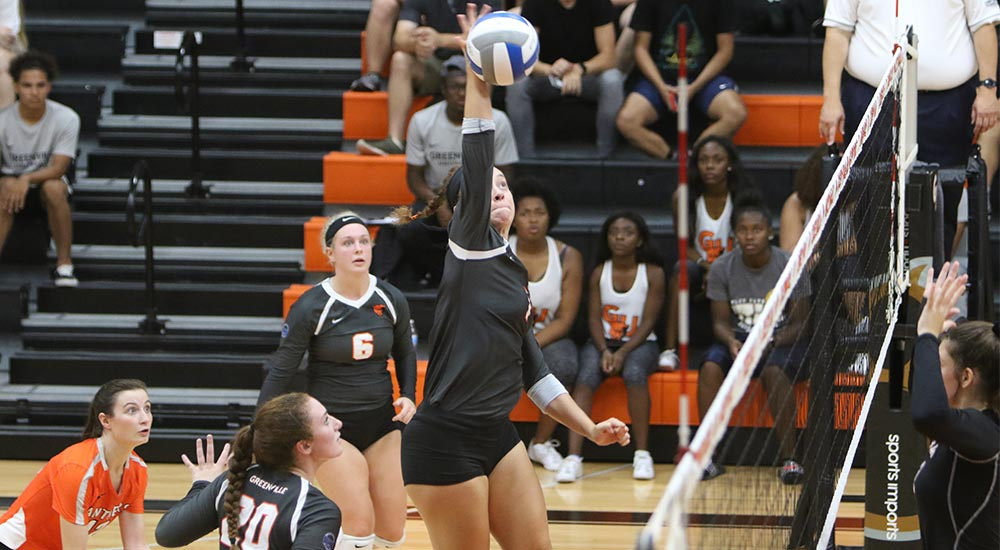 Women's volleyball earns 20th win at Eureka