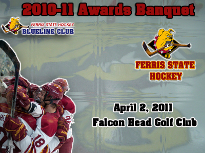 2010-11 Ferris State Hockey Awards Banquet Scheduled For April 2