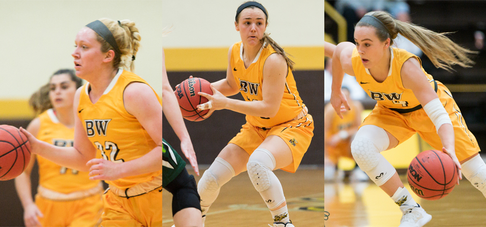 Lilly Edwards, Riley Schill and Kasey Hughes (Photos courtesy of Jesse Kucewicz)