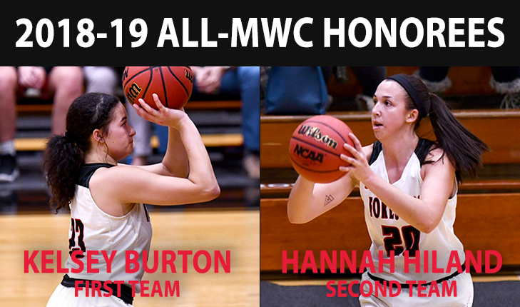 Kelsey Burton and Hannah Hiland Earn All-MWC Honors
