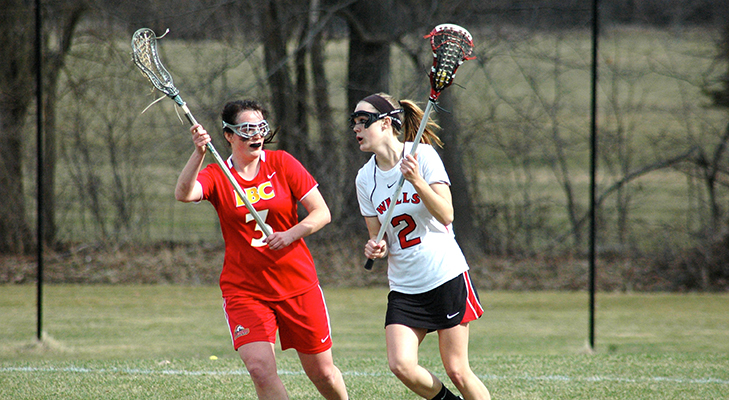 Wildcats Sprint Past Women's Lacrosse, 18-5