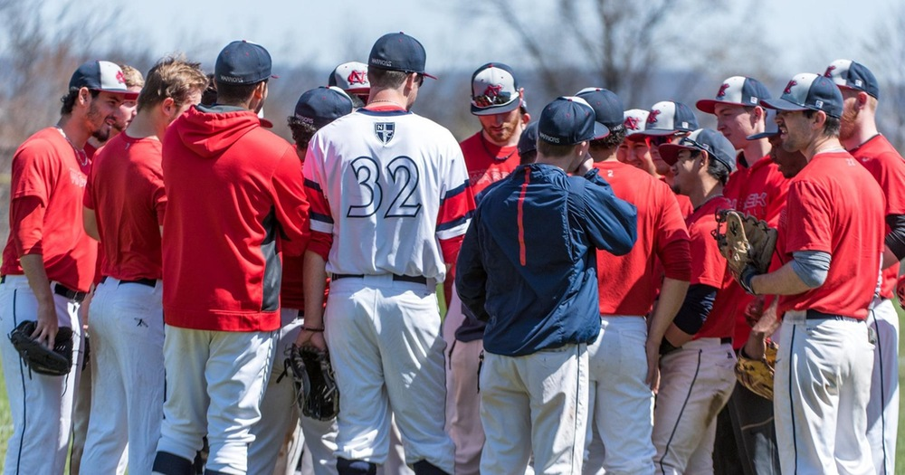 Nyack Baseball Splits with Mercy College