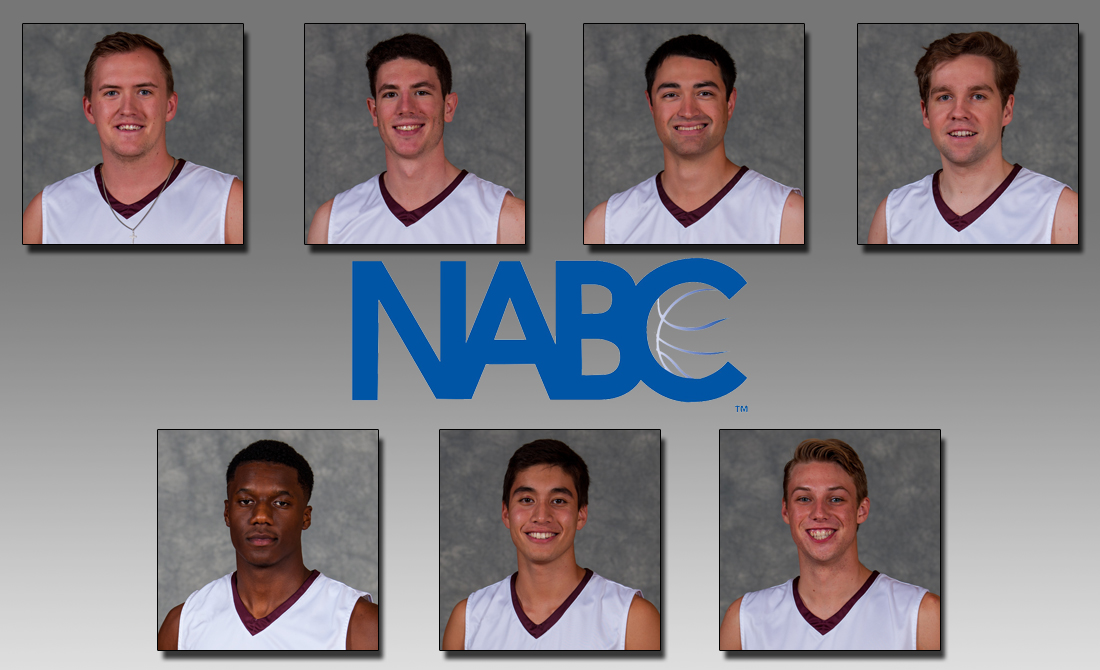 Seven Maroons Named to 2017-18 NABC Honors Court