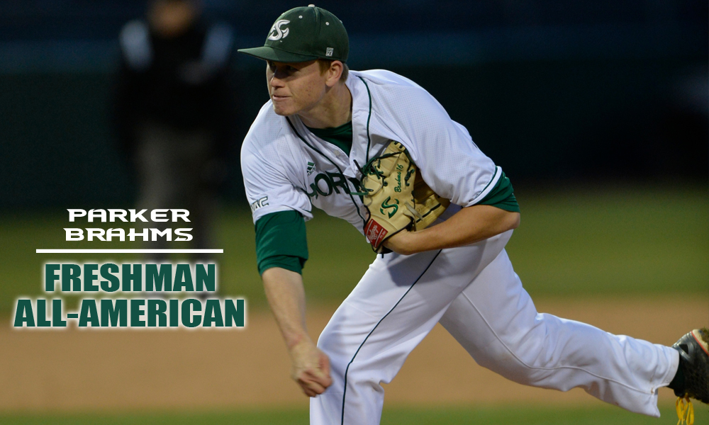 PARKER BRAHMS NAMED COLLEGIATE BASEBALL FRESHMAN ALL-AMERICAN