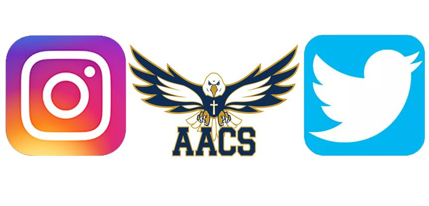 Follow AACS Athletics On Social Media