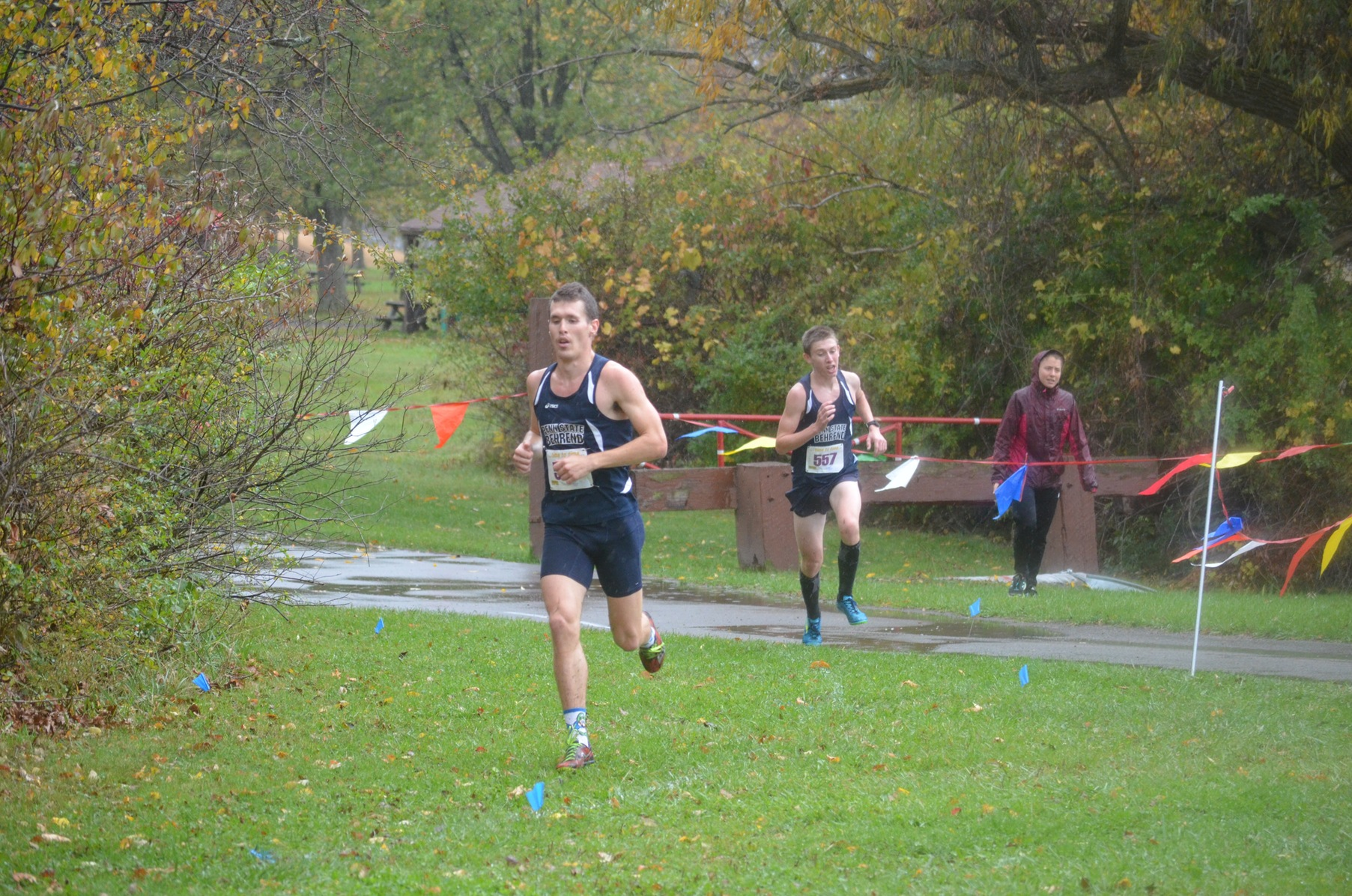 Men's Cross Country Wins Seventh Straight AMCC Championship