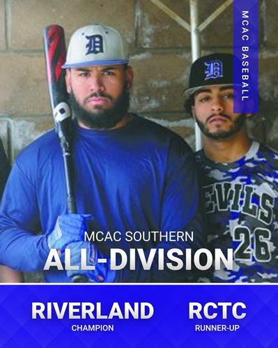 MCAC Baseball Southern All-Division Honors