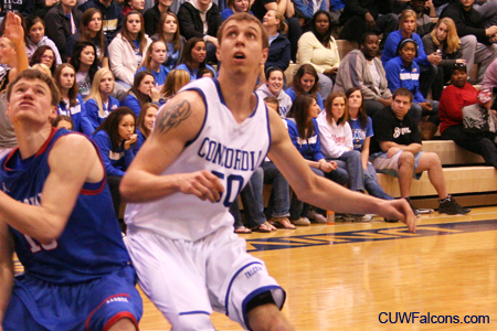 Second half spurt energizes Men's Basketball in NAC Tournament victory