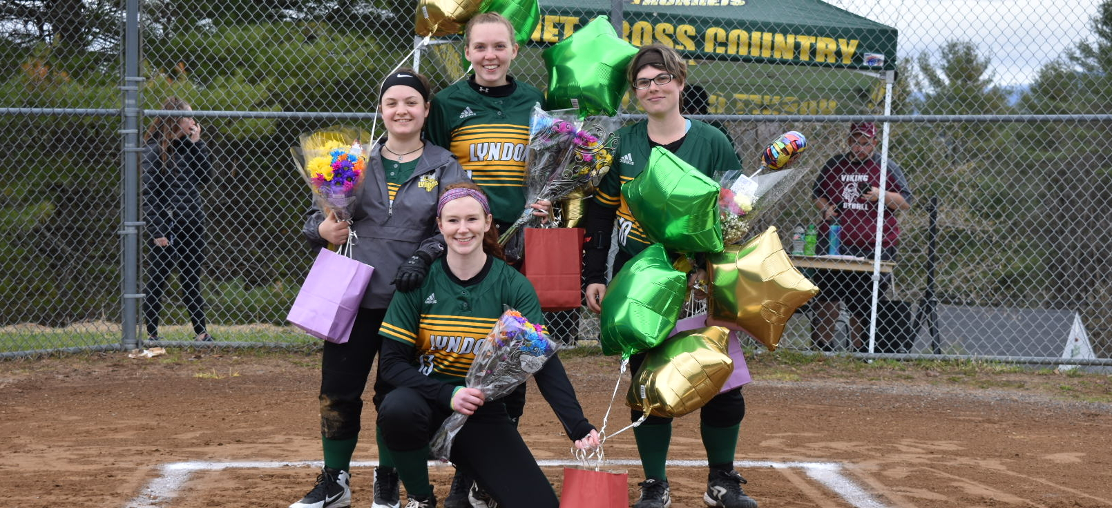 Hornet softball held to three hits in Senior Day losses to Thomas
