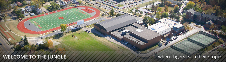 Wittenberg Athletics Facilities Aerial Picture