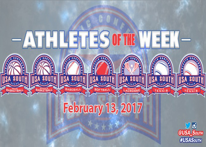 Harp named USA South Athlete of the Week
