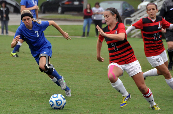 Women's Soccer: Andrea Richard ties for team lead in goals in Panthers' match at Methodist