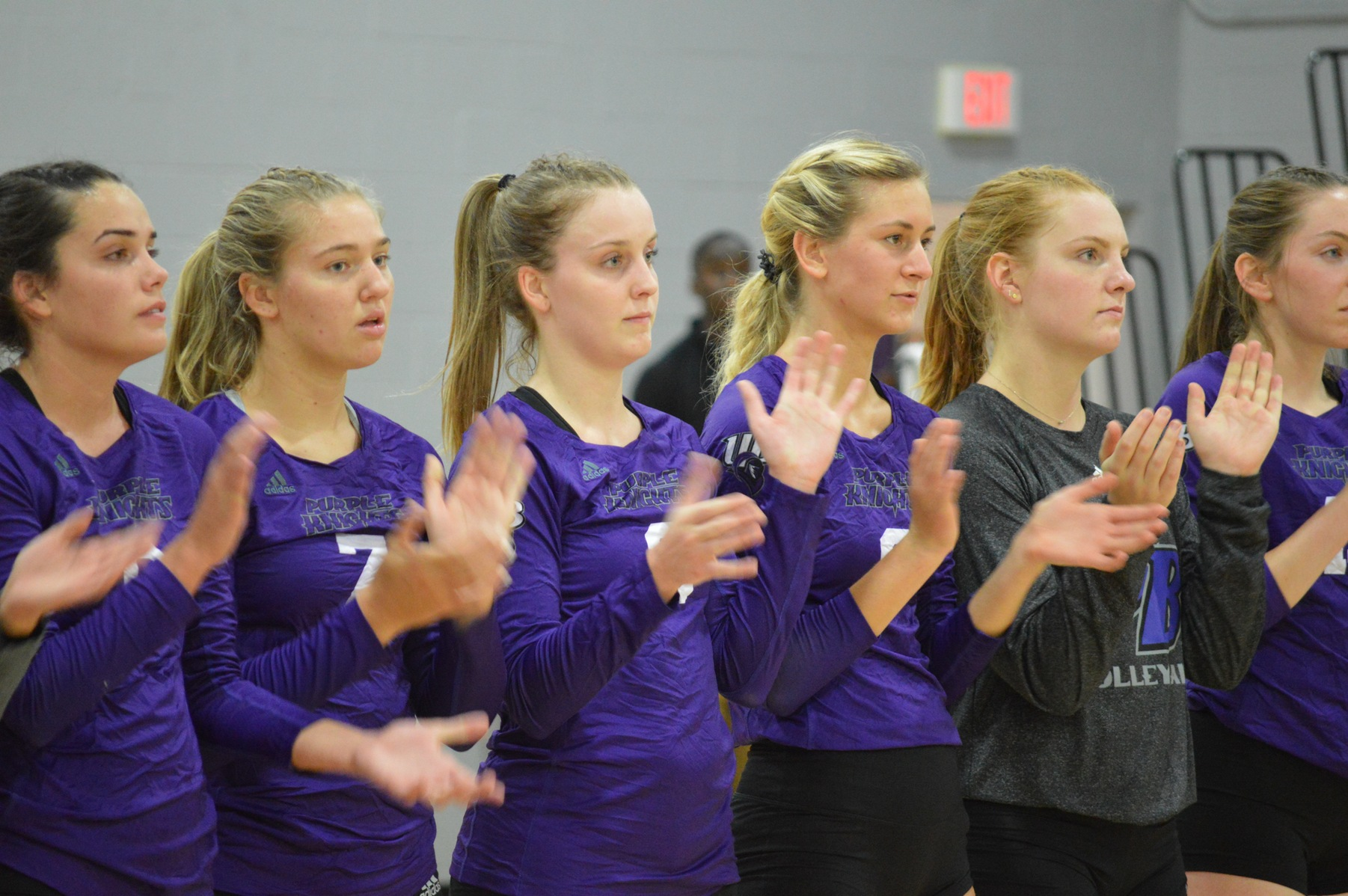 Purple Knights Right Back In Volleyball Win Column With Two Victories On Friday At AIC Invitational