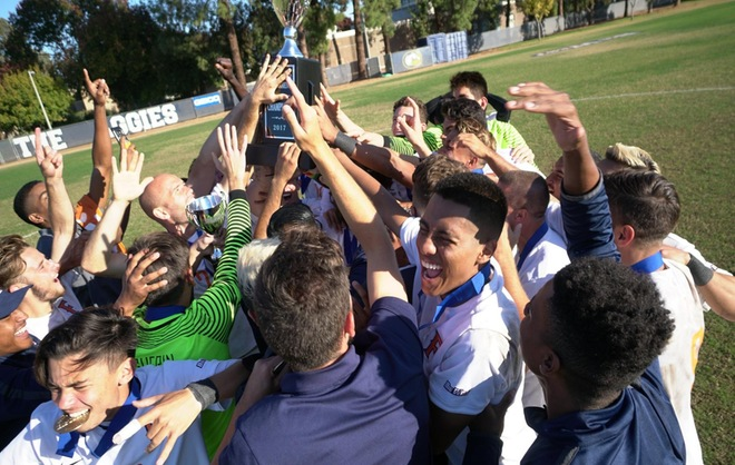 Titans Topple UC Davis in Penalty Kicks to win Big West Championship